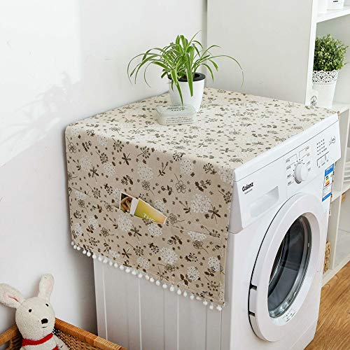 HBOS Geometric Pattern Washing Machine Cover Single Door Refrigerator Dust Cover (GP)