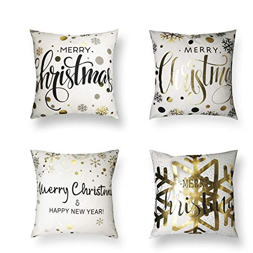 PPTS Christmas pillow case cushion cover Nordic theme home pillow