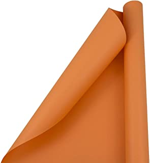 burnt orange wrapping paper