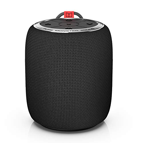 Monster Bluetooth Speaker, Superstar S110 Portable Bluetooth Speakers 5.0 with Truely Wireless Stereo Pairing for Louder Stereo Sound, Built-in Mic, Portable Wireless Speaker for Home or Indoor Use (Electronics)