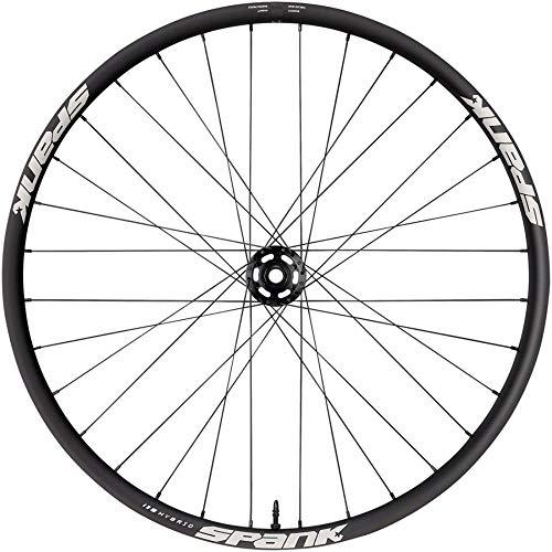 Spank OOZY 395+ E-Bike, 27,5 Pulgadas, Negro, buje Spike Boost 15 x 110 m, Rueda Delantera para Adulto, Unisex, 15 mm