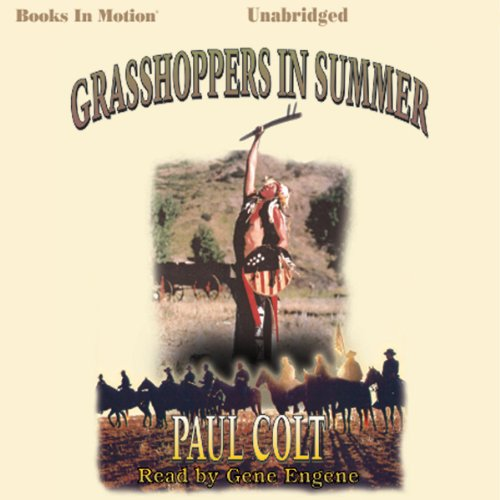 Grasshoppers in Summer audiobook cover art