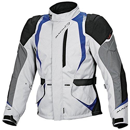 Macna Escape 2L Motorradjacke grau-blau L - Motorradjacke