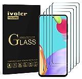 ivoler 4 Unidades Protector de Pantalla para Samsung Galaxy A52 / A51 / S20 FE, Cristal Vidrio Templado Premium, 9H Dureza, Antiarañazos, Sin Burbujas