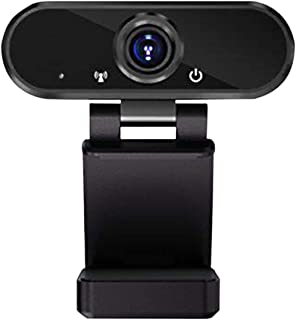 1080 Full HD Webcam with Stereo Microphone USB Desktop Laptap Webcam