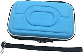 Carry Hard Case Shell Bag Pouch Protective Cover for Nintendo Gameboy Advance GBA Gameboy Color GBC (Blue)