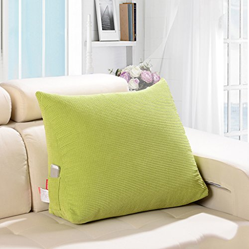 Coussin Coton élastique Triangle Big Office Retour Lit Oreiller Canapé Oreiller Amovible et Lavable