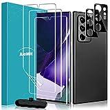 AloMit Schutzfolie für Samsung Galaxy Note 20 Ultra Folie Kamera Panzerglas(3+2)