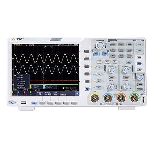 OWON XDS3104E Digital Oscilloscope 4-channel Desktop DSO Bandwidth 100 MHz Sample Rate 1 GSa/s