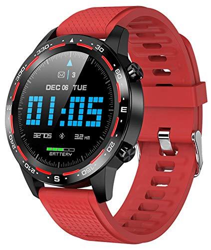 Reloj Inteligente Con Pantalla Táctil Completa De 1,3 Pulgadas Rastreador De Fitness Deportivo Relojes Inteligentes Para Empresas Pulsera/Bandas Llamada Bluetooth Para Hombres/mujeres ( Color : B )