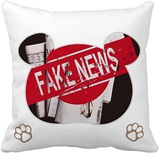 OFFbb-USA False Deception - Funda cuadrada para almohada