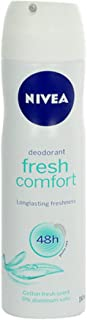 Nivea Fresh Comfort Anti-Perspirant Spray 150 ml with Ayur Product in Combo