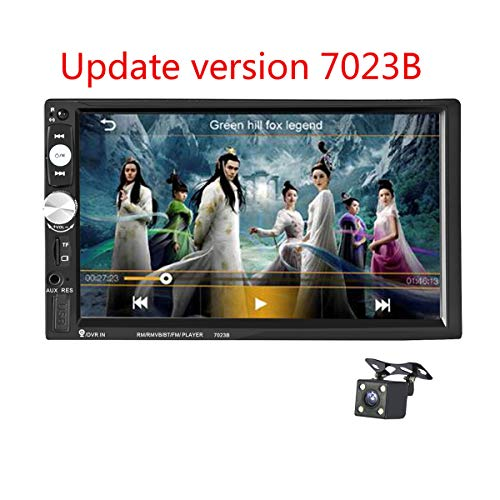 GOFORJUMP Autoradio 2 Din General Car Models 7 '' inch LCD Touch Screen Car Radio Player Bluetooth Car Audio Support Vue Arrière Caméra