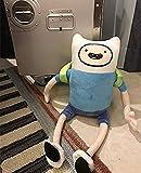 Zcm Plush 42cm Peluches Finn Jake BMO Peluches de Peluche para niños Cumpleaños