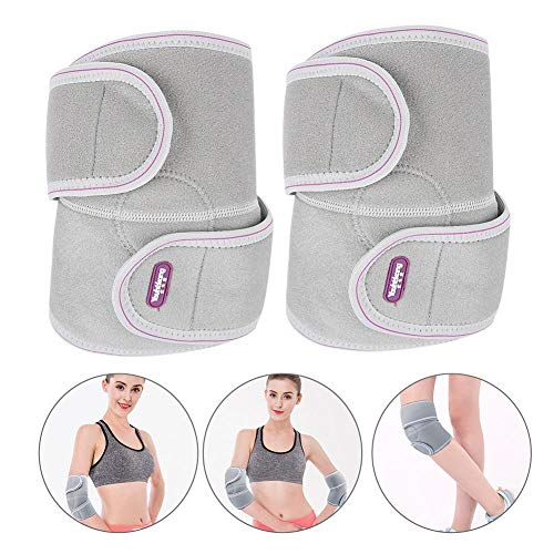 ZJchao Self-Heating Magnetic Knee Wrap Brace, Knee Support Soft Compress Pad for Relief Arthritis Pain, Joint Injury Recovery