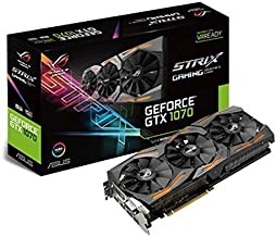 ASUS GeForce GTX 1070 8GB ROG Strix Graphic Card (STRIX-GTX1070-8G-GAMING) (Renewed)
