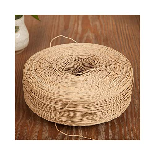Touw 10M 1mm DIY Natural Jute Twine Cord DIY handgemaakte accessoires hennep Jute Rope for papier crafting huwelijk scrapbooking (Color : Natural)
