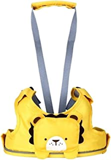 Guomao Baby Steps with Safety Drop Resistance Against Le Infant Learning to Walk, Learning to Run with Traction (Color : Yellow)
