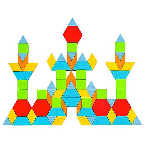 GOKI- Puzzles 3DPuzzles 3DGOKIPuzzle, Formas geométricas, Geo, Multicolor (1) , color/modelo surtido