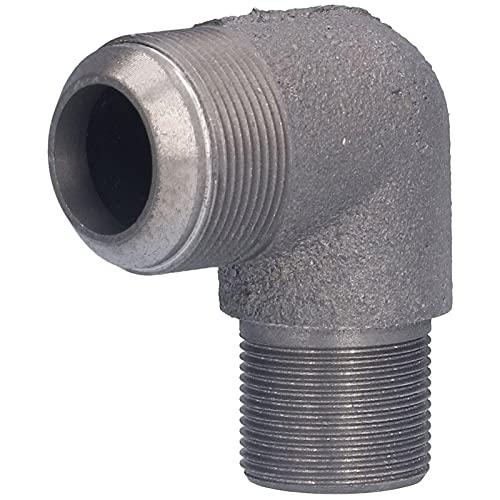CUTULAMO Codo Metal, Aspecto Sin Rebabas Resistencia A Altas Temperaturas Codo De Compresor De Aire De 90 Grados para Configuración 1.6 Compresor De Aire 3100(Codo de Hierro 65 de Alta presión (304))