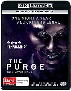 The Purge 4K UHD Blu-ray / Blu-ray | NON-USA Format | Region B Import - Australia