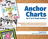 Anchor Charts for 1st to 5th Grade Teachers: Customizable Colorful Charts to...