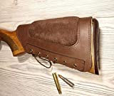 vsdfvsdfv Leather Rifle Buttstock Cover Butt Stock...