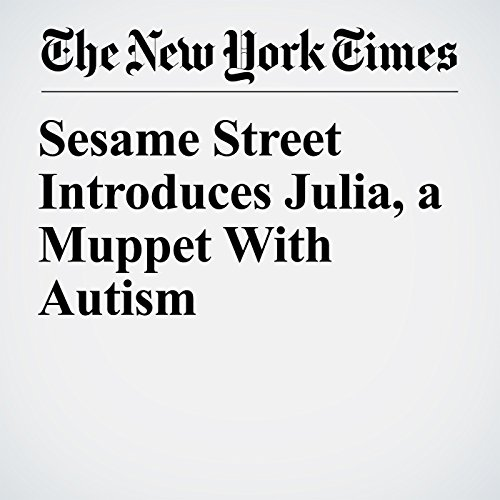 Sesame Street Introduces Julia, a Muppet With Autism copertina