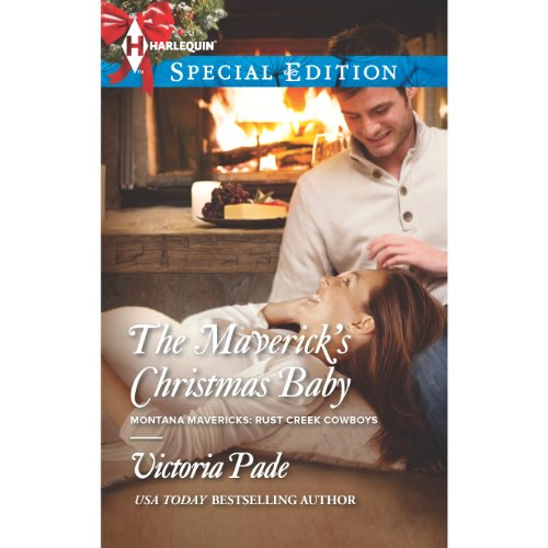 The Maverick's Christmas Baby audiobook cover art