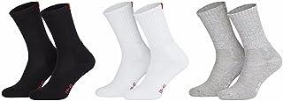 3 pares de alta calidad calcetines de tenis Rizo Suela suave hasta tamaño 49