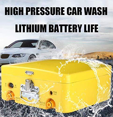 Li-ion-accu-reinigingsreiniger, hogedrukreiniger, inductiemotor, terrasreiniger, wasmachine met accessoires, wasmachine, gemakkelijk autowash, voor huis/tuin/deking/voertuigen, li-ion