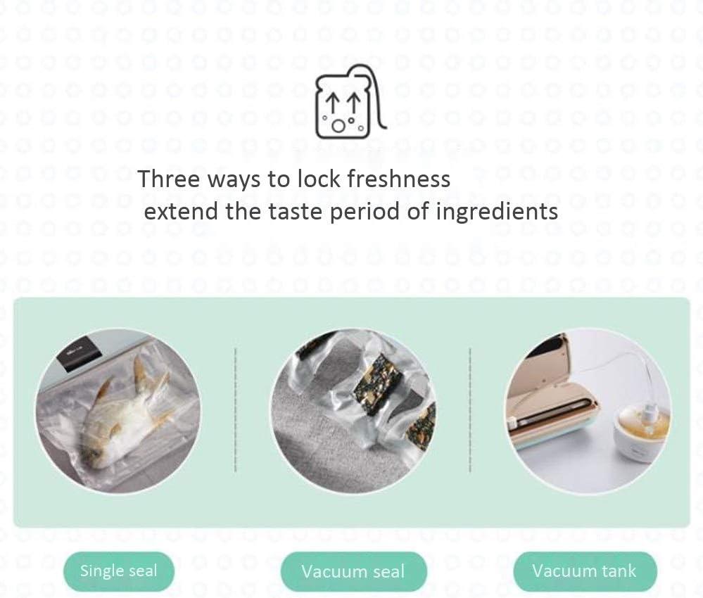 Nourriture Vide Scellant Machine, Haute Puissance D'aspiration 60 KPa Et Sec Et Mode Moist, One Touch, for La Préservation des Aliments Et des Emballages sous Vide (Color : B) A