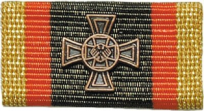 Weitere... Bandschnalle BW Ehrenkreuz Bronze