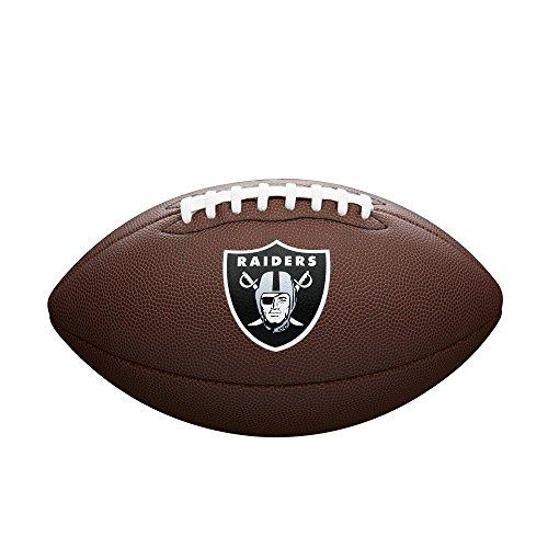 WILSON NFL Team Logo Composite Fußball, Oakland Raiders, Official