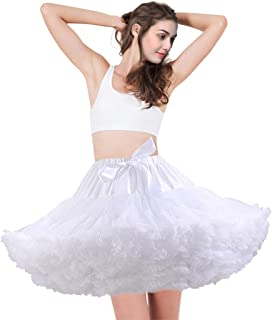 aingycy 6-Hoops Hoop Skirt Full A-line Bridal Dress Gown Slip Petticoat for Wedding Dress Crinoline Underskirt Ball Gown (...