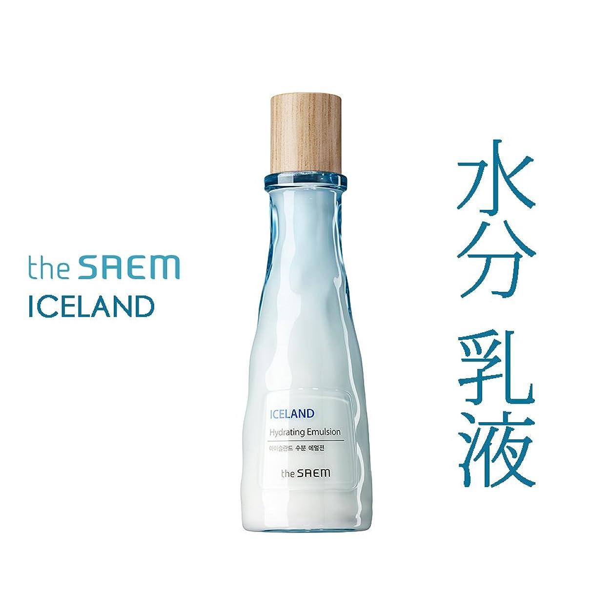 胃二層エコーザ セム The saem アイスランド 水分 乳液 The Saem Iceland Hydrating E mulsion 140ml