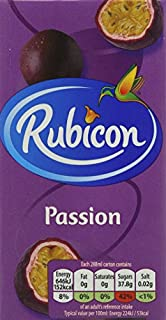 Rubicon Still Passion Juice Drink, 288 ml, (Pack of 27 Cartons) (B0048F1WNW) | Amazon price tracker / tracking, Amazon price history charts, Amazon price watches, Amazon price drop alerts