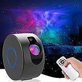 Proiettore a Luce Stellare LED Nebula, 8 Modalità LED Lampada Cielo Stellato Luce Notturna con Starry Stella e Telecomando Luce d'atmosfera per Bambini Adulti Regalo Decorazione della Stanza