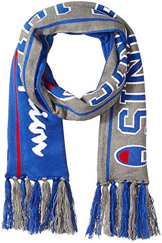Champion LIFE Men's Champion Reversible Scarf, surf the web/oxford grey, OS