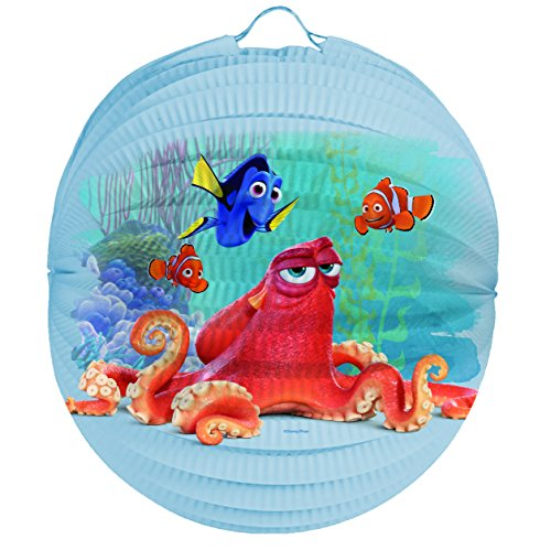 Findet Dory Laternenset Ballon-Laterne mit elektrischem Laternen-Stab ca. 49cm und Papier-Lampion ca. 25cm für Kinder