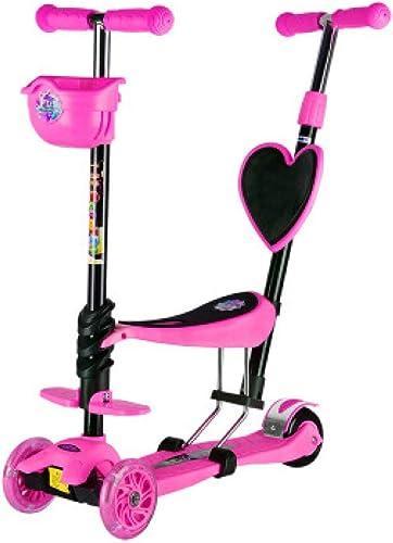 Multifonction Trougetinette enfant   voiture tricycle poignée réglable en hauteur parfait pour 2-8 ans