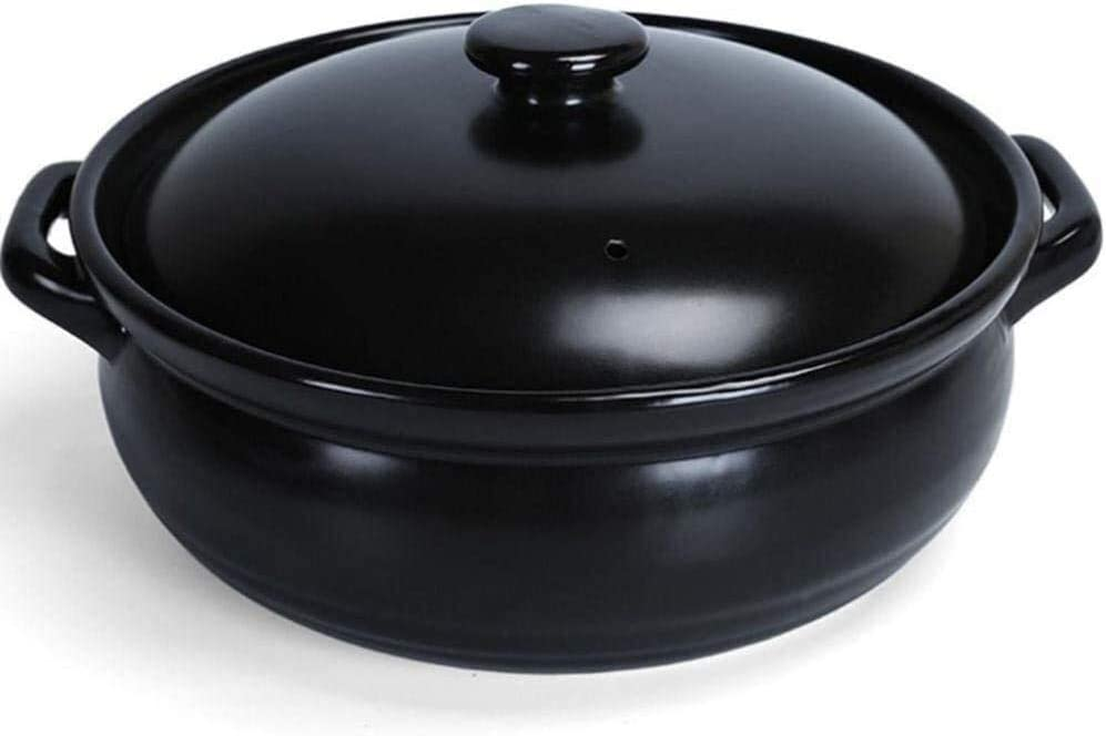 Ceramic Casserole Stockpot Clay Dish 4 years warranty Pot for Rapid rise Cooking