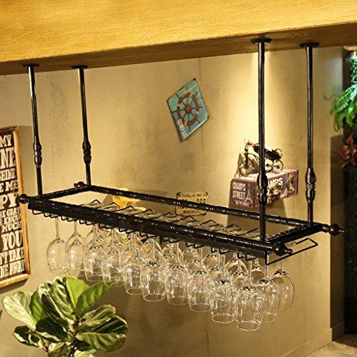 Estante de la copa de vino, estante del sostenedor de la copa de vino, estante de la copa de vino, estante de la copa de vino, estante de la copa de champán, estante de la cristalería (Size : 120cm)