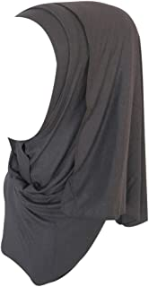 DZT1968 Women daily Cotton Sweat Long Scarf Muslim Hijab Arab Wrap Shawl Headwear
