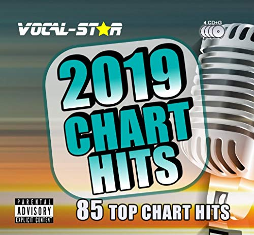 Vocal-Star 2019 Karaoke Chart Hits 85 Songs on 4 CD+G (CDG) Discs. The Top 85 Chart Songs of 2019…