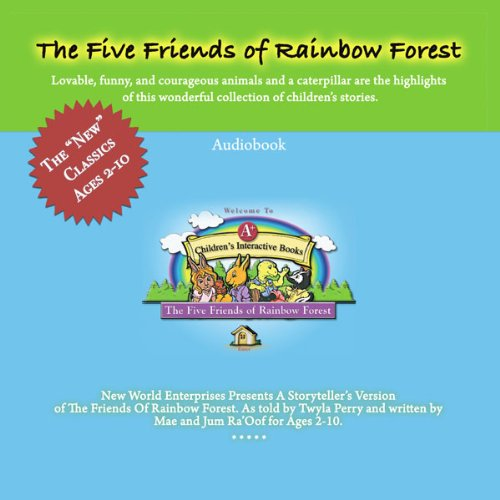 The Five Friends of Rainbow Forest Audiobook cover art