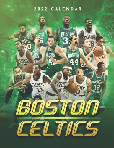 Boston Celtics 2022 Calendar: Special gifts for all ages and genders with 18-month Calendar 2022
