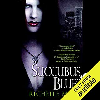 Succubus Blues audiobook cover art