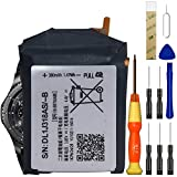 for AT&T Samsung Gear S3 Frontier SM-R765A,Gear S3 Classic SM-R775A Replacement Battery, for EB-BR760ABE/GH43-04699A Battery with DIY Repair Tools