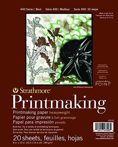Pro-Art Strathmore Grabado Bloc de Papel (30,5x 25,4cm, 20Hojas